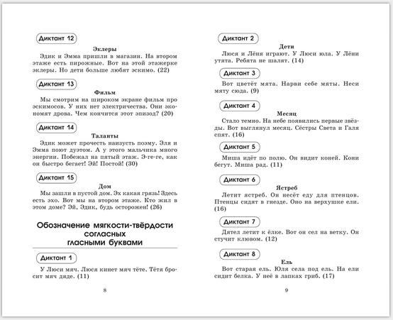 ДИКТАНТЫ ПО РУССКОМУ ЯЗЫКУ класс КОНТРОЛЬНЫЕ ДИКТАНТЫ ПО РУССКОМУ ЯЗЫКУ 1 2 класс