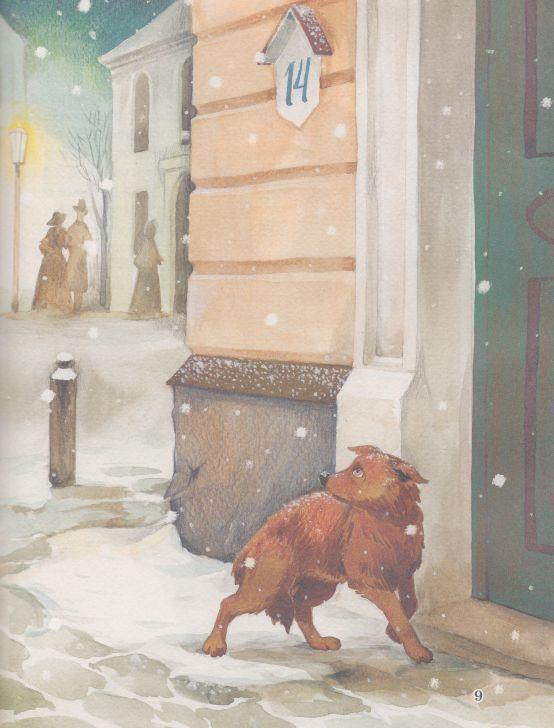 Картинки зима, картинки чехов каштанка
