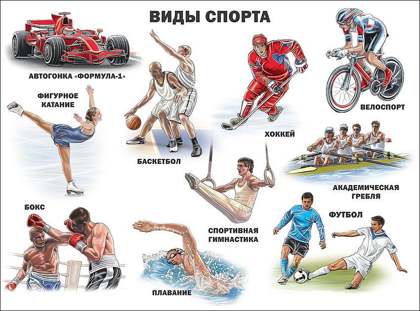 здесь спортивные картинки по видам спорта своем инстаграме она